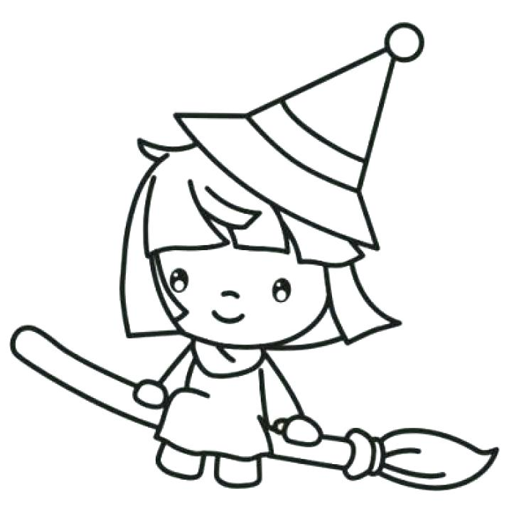 730x726 Halloween Witch Coloring Pages To Print Cute Full Size Of Page