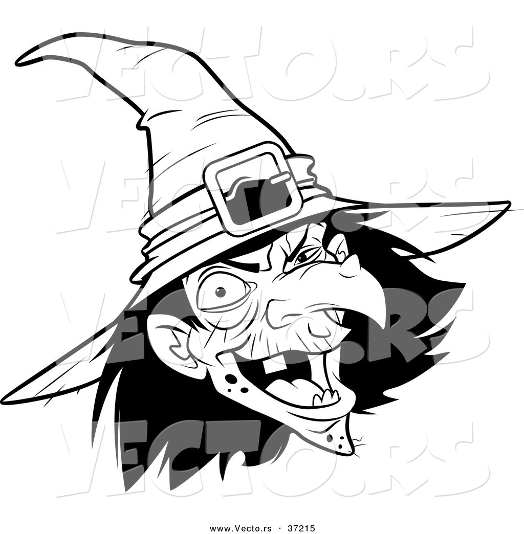 1024x1044 Laughing Witch Clipart