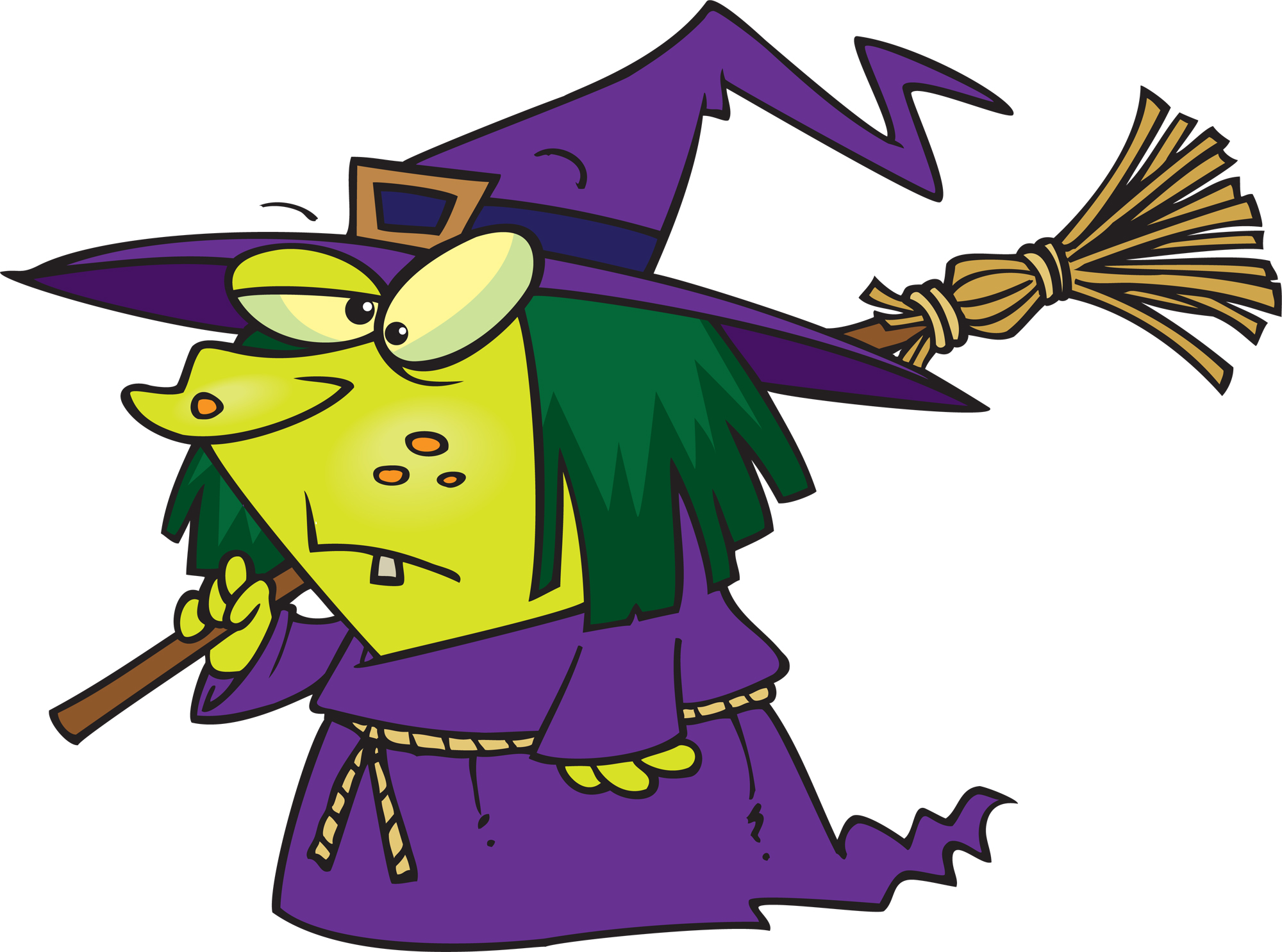 2000x1486 Witchcraft Clipart Wicked Witch