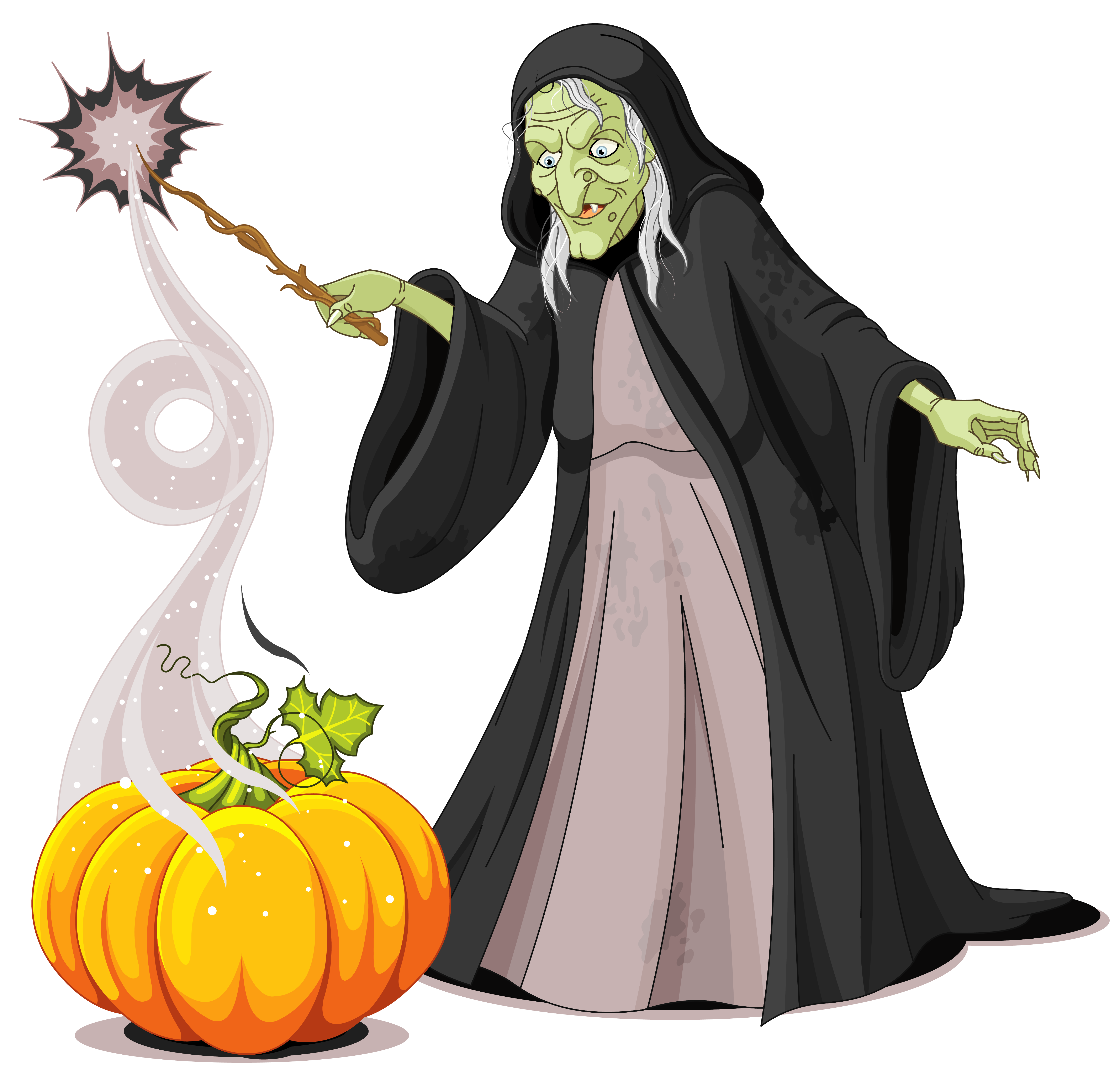5388x5200 Witches Clipart Creepy