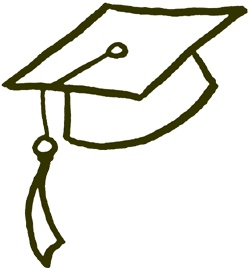 250x268 Clipart Graduation Hat