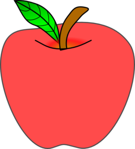 270x299 Free Apple Clipart