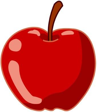 340x393 School Apple Clip Art Clipart Best