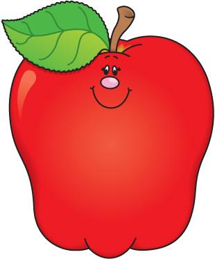 310x373 school apple clipart 2