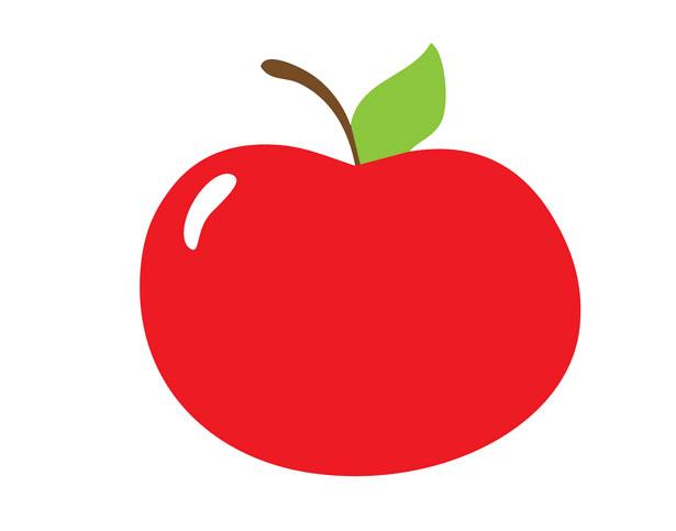 615x483 Apple clipart cute school