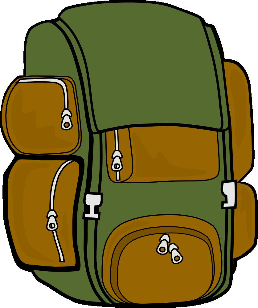 837x1000 Clip Art School Backpack Clipart