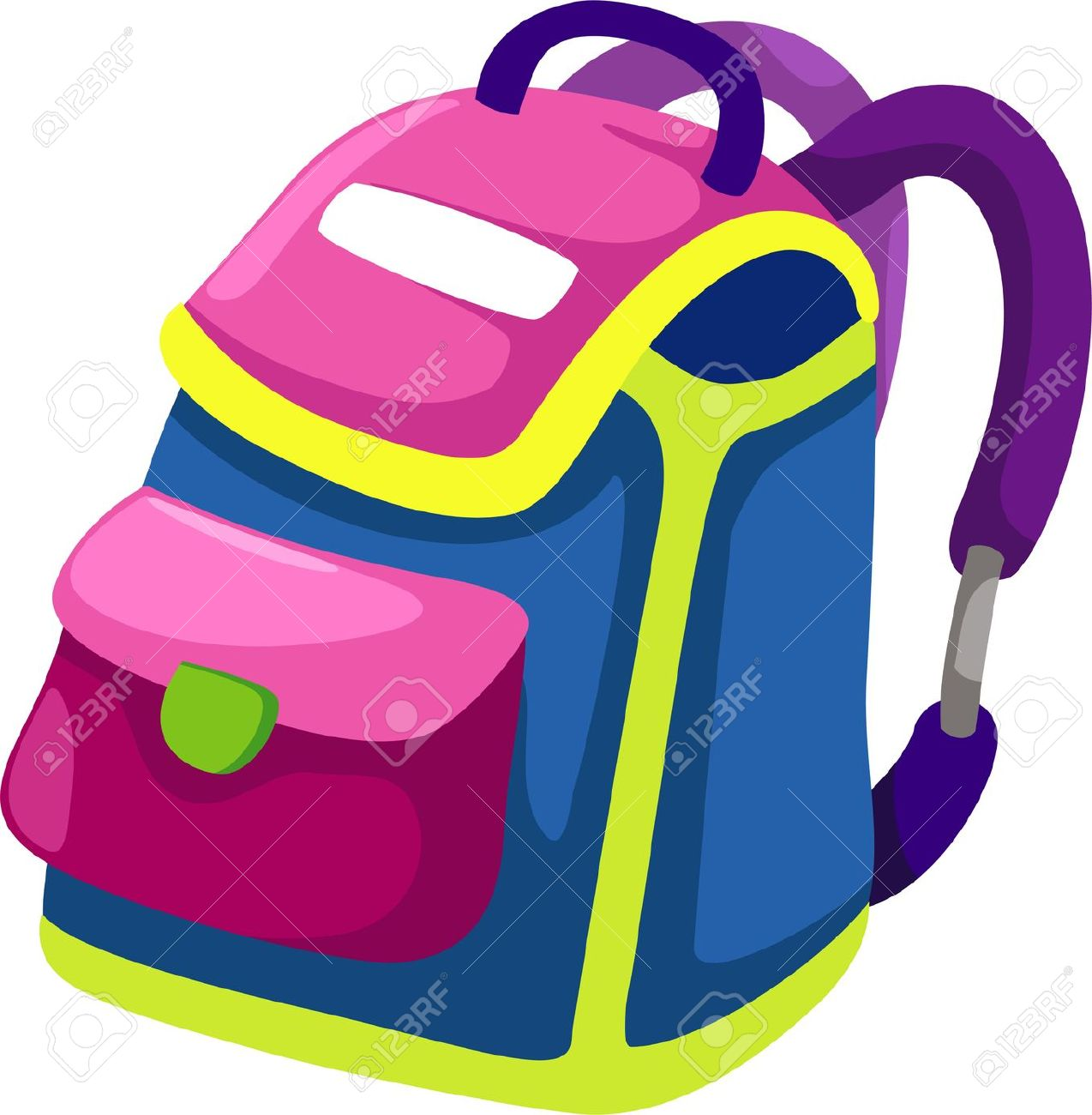 1274x1300 Clipart School Bag