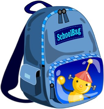 340x356 Backpack Clip Art Clipart Panda