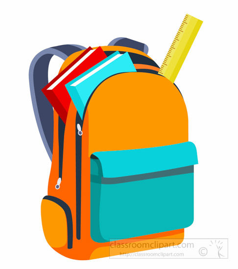 486x550 Products clipart school bag
