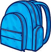 167x170 School Bag Clip Art