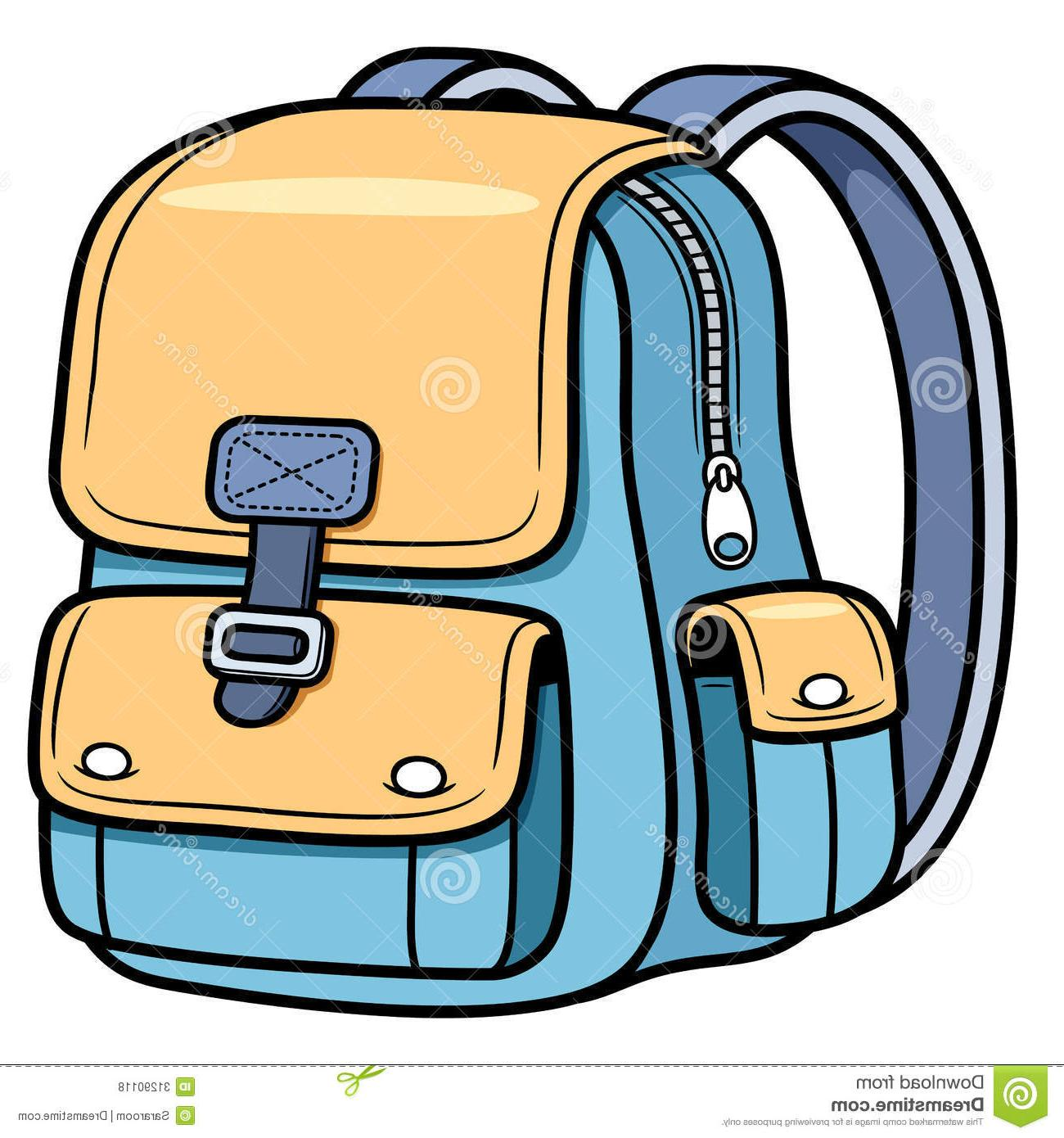 1300x1390 Unique School Bag Vector Illustration Back To Image