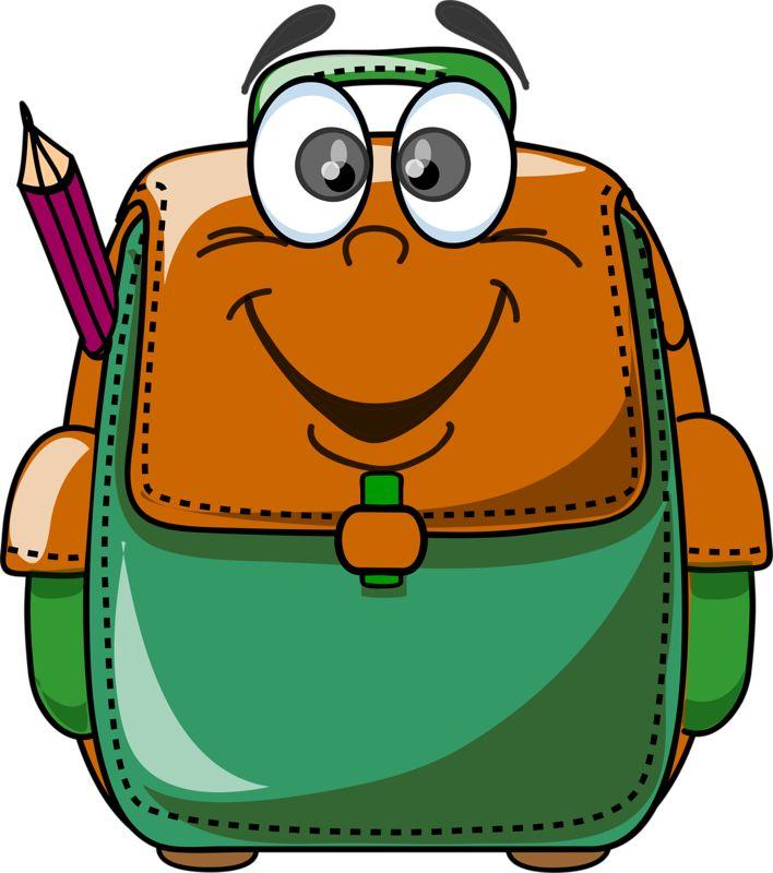 708x800 Bag Clipart End School