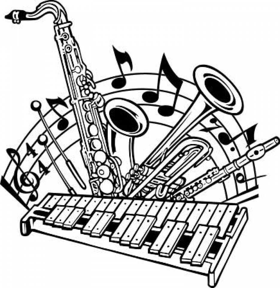 School Band Clipart