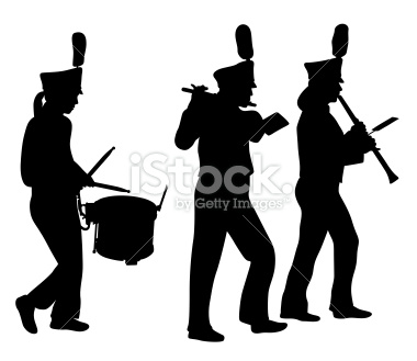 380x329 Clipart marching band