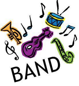 276x300 Band Clipart Free