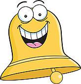 164x170 Bell Ringing Clip Art