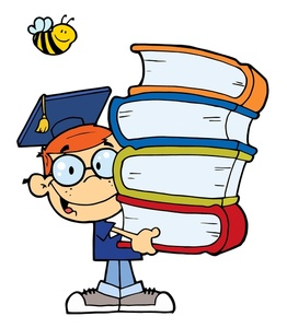 262x300 Books Clipart Image