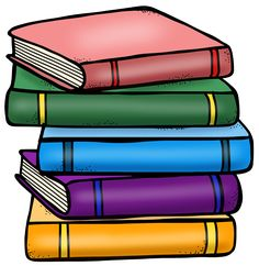 236x242 stack of books clipart