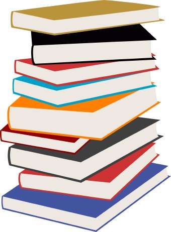 340x462 School Books Clipart