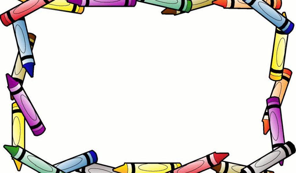 1024x600 Border clip art download crayon 3 school clip art –