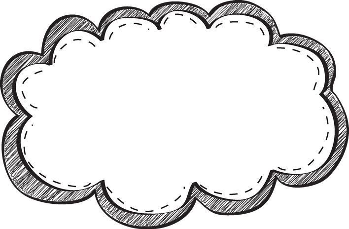 708x464 Black And White Border Clipart