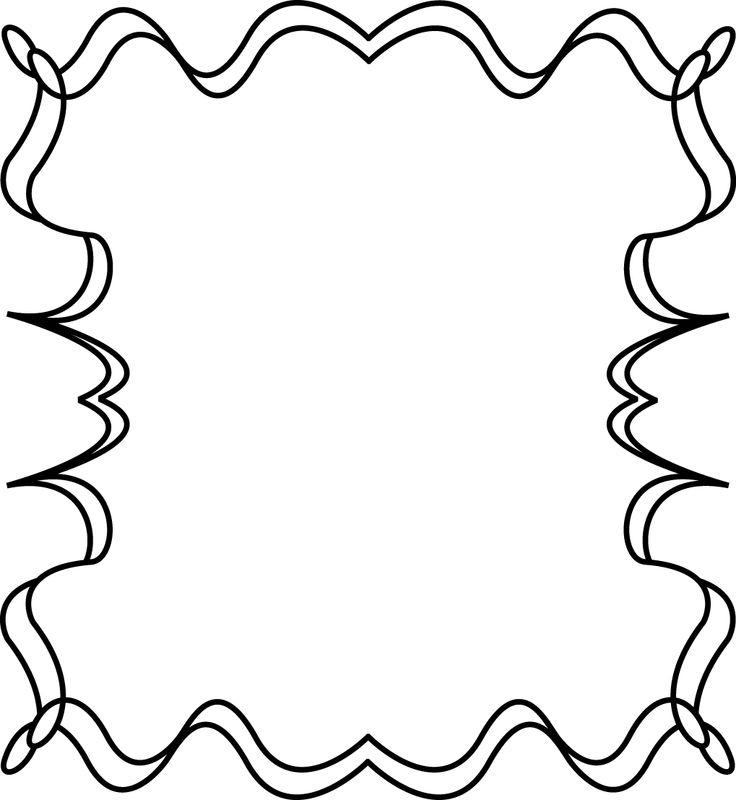 736x800 Free School Border Clip Art