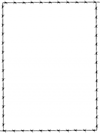 320x425 Simple Border Clipart Free