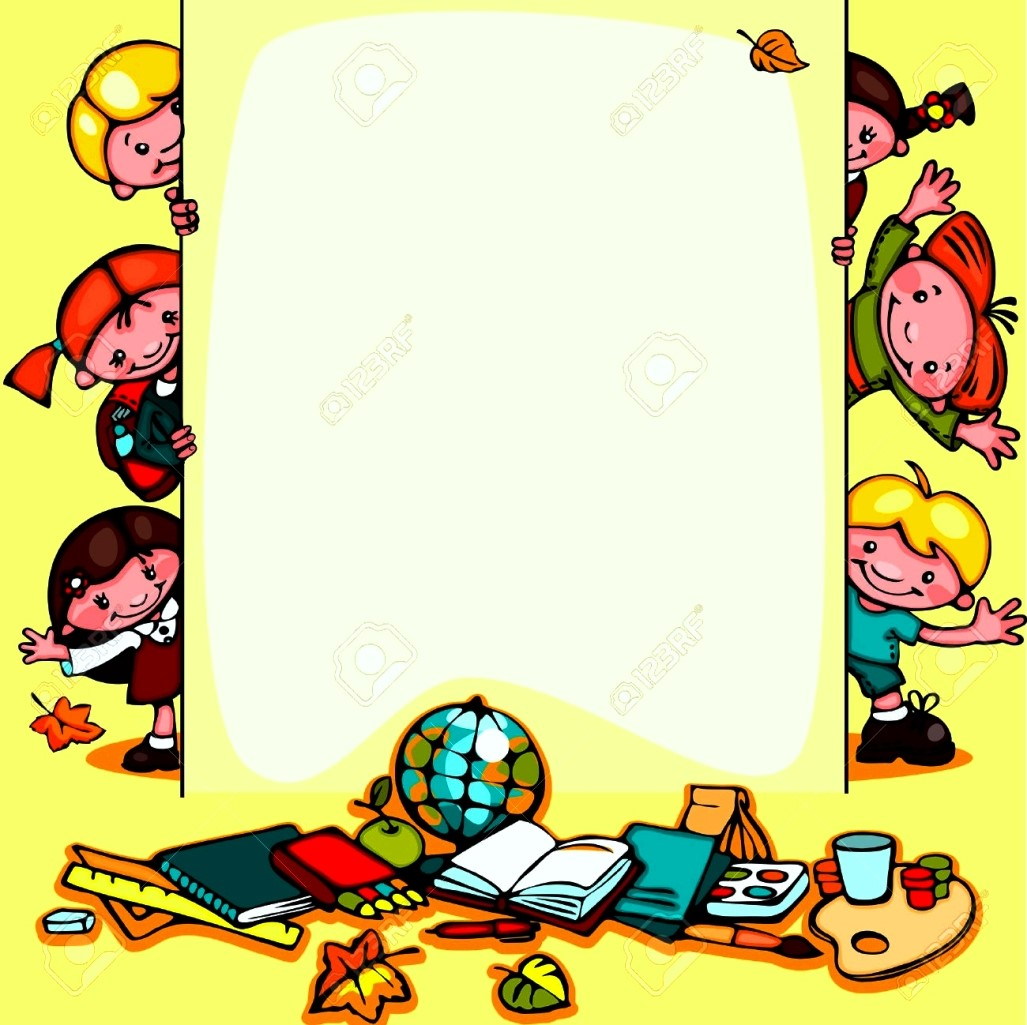1027x1025 Free School Border Templates