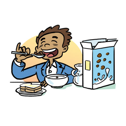 500x500 Free School Breakfast Clipart Image