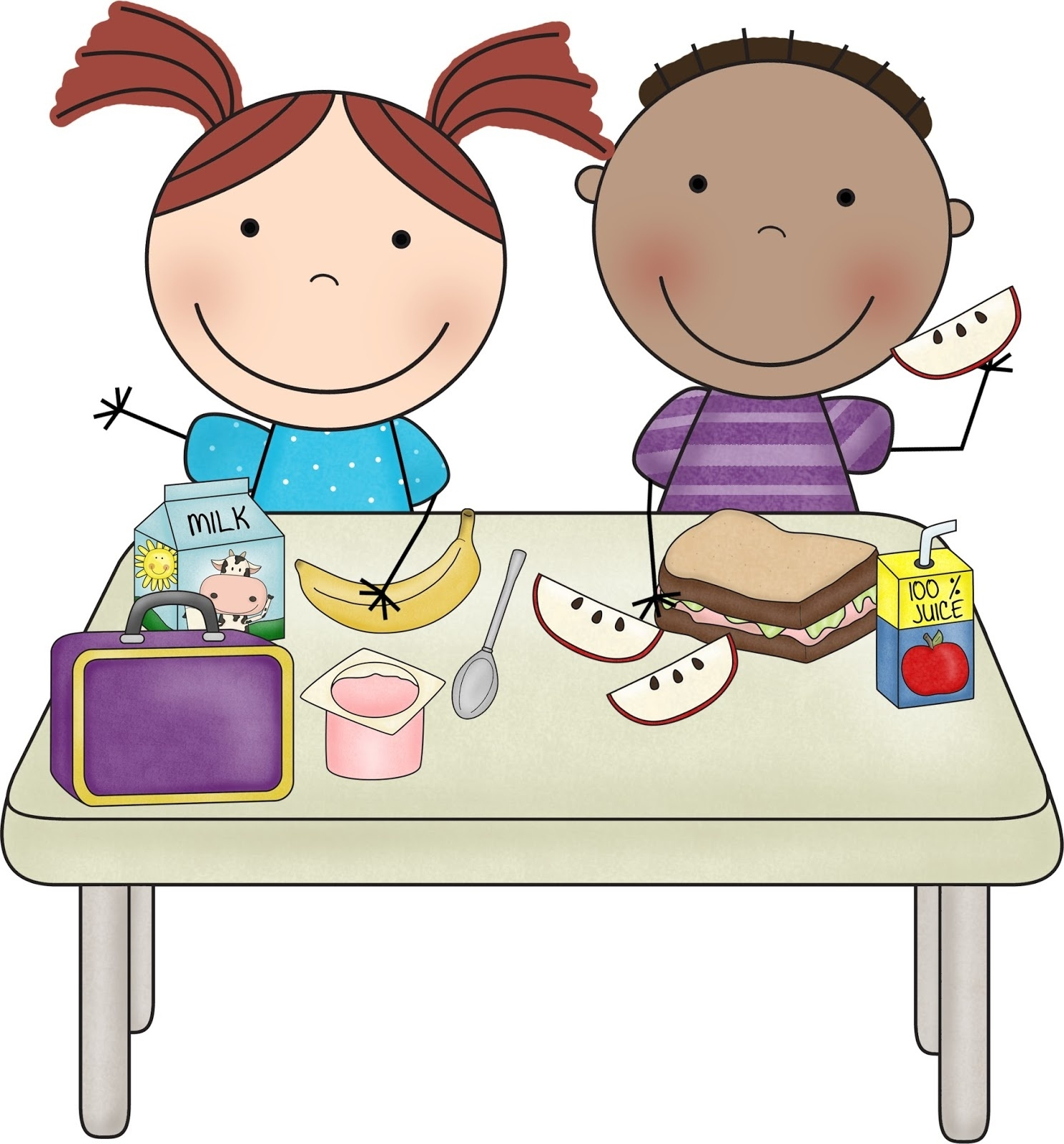 1488x1600 Breakfast Helper Clipart Letters Example