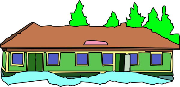 600x291 Image Of School Building Clipart