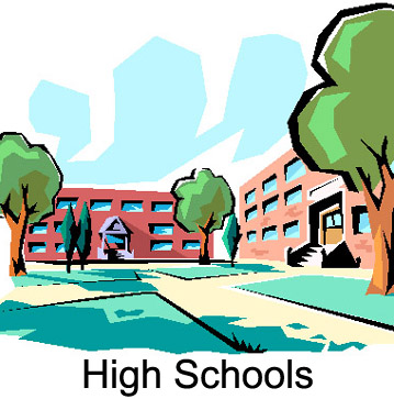 359x363 Image Of School Building Clipart