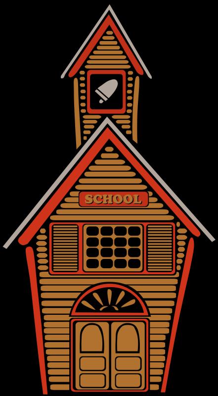 441x800 School Building Clipart Clipart