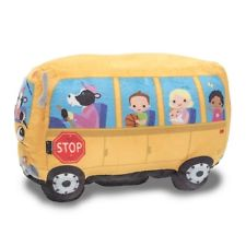 225x225 Cuddle Barn E7 Animated Toy Wheelie School Bus Singing Wheels on