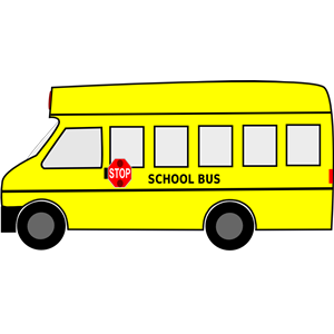300x300 Moving School Bus Animated SVG Clipart Free Download clipart