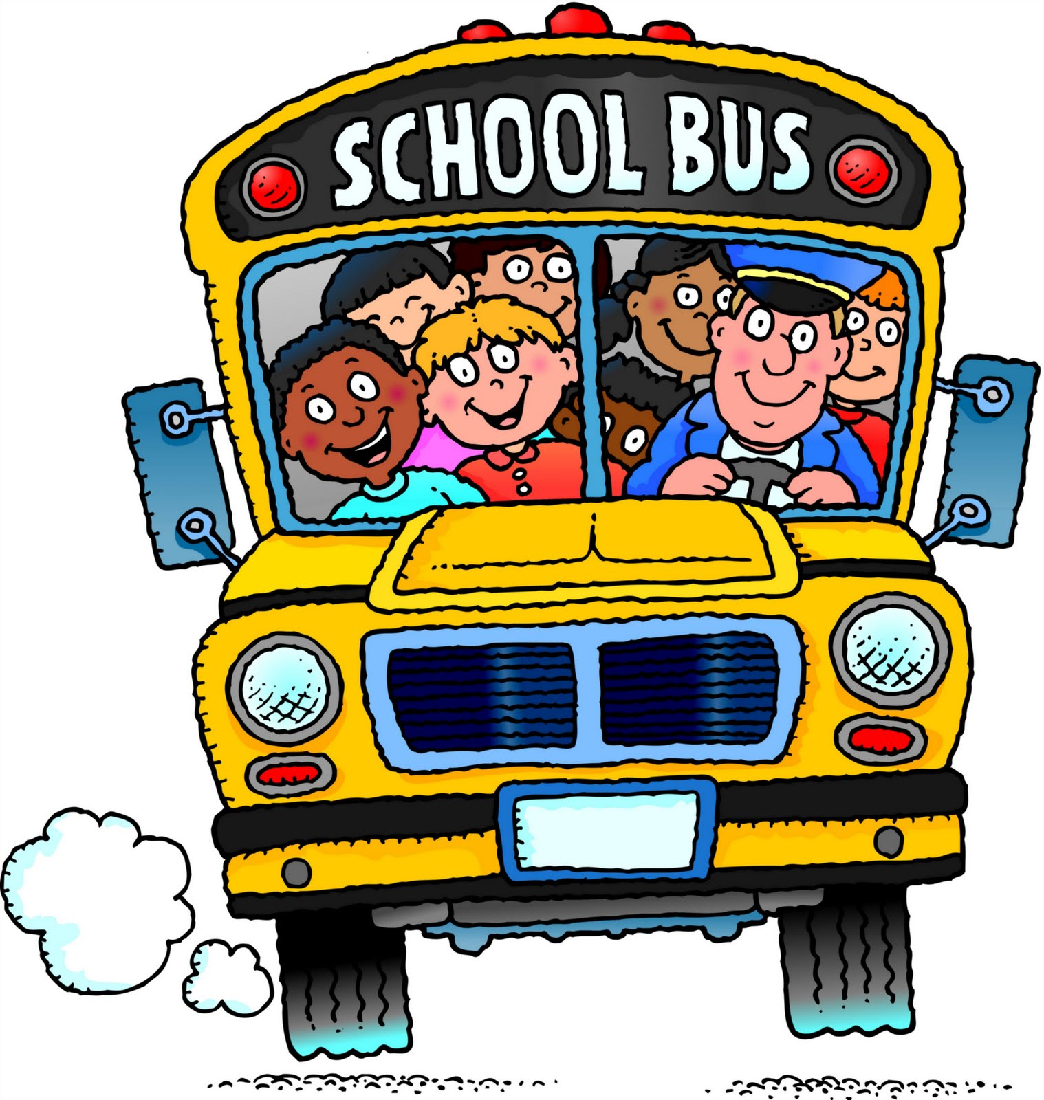 1518x1600 Bus clipart animated