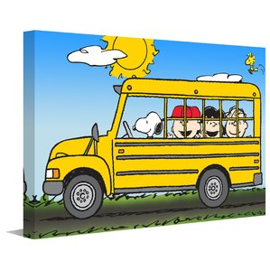 299x299 School Bus Art Wayfair