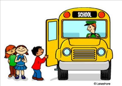 400x283 School Bus Clip Art Black And White Line Art Clipart Panda