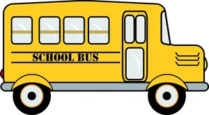 300x165 Cartoon School Bus Clipart