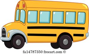 300x183 Free School Bus Art Prints And Wall Art Freeart