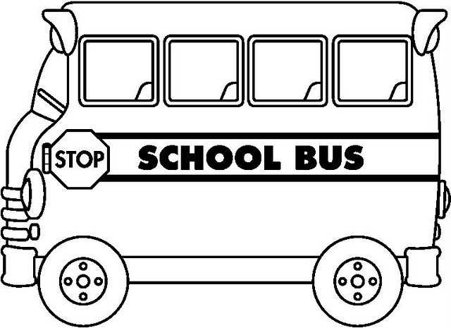 640x465 Coloring Pages School Buses Trends Coloring Coloring Pages