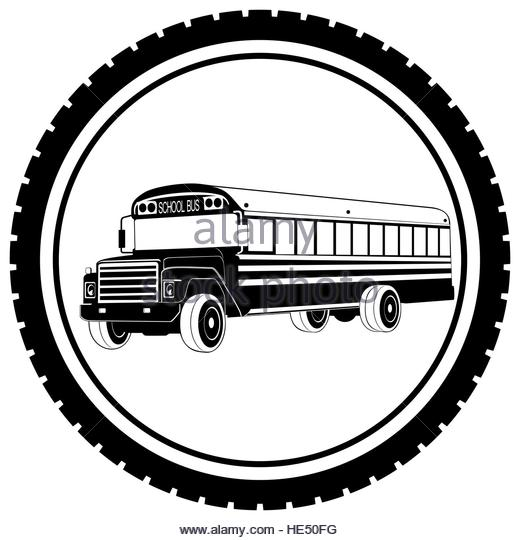 520x540 School Bus Black And White Stock Photos Amp Images