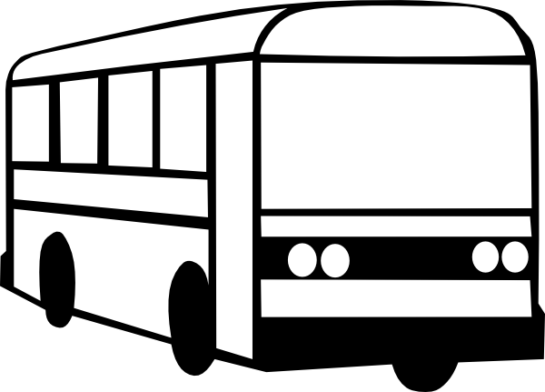 600x431 School Bus Black And White Bus Clipart Black And White Clipartfest