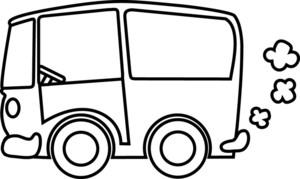 300x179 School Bus Black And White White Bus Clipart Clipartfest