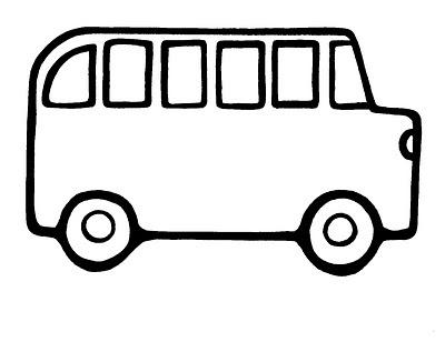 400x308 Bus Clipart Preschool