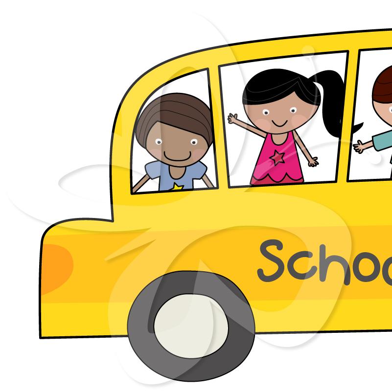 801x800 Laufuhr Test Images School Bus Border Clip Art