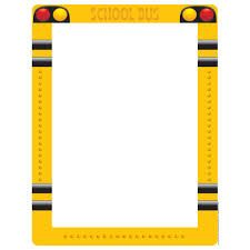 225x225 School Bus Clipart Border