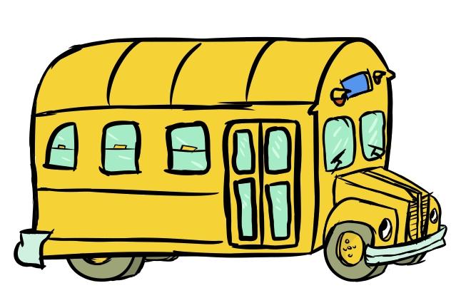 667x418 School Bus Border Clip Art Free Clipart Images