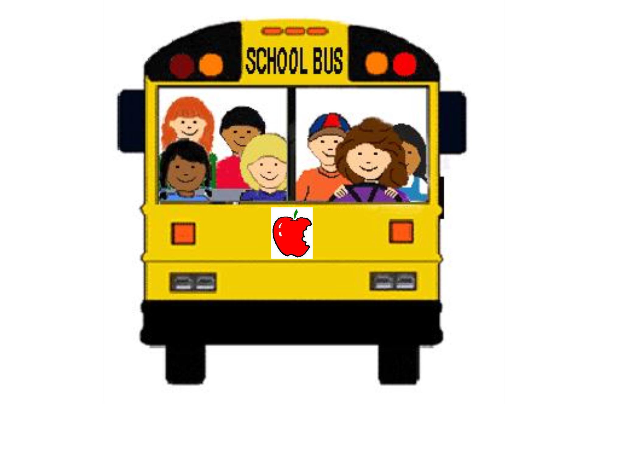 2048x1536 School Bus Driver Clipart