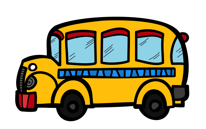 789x494 Bus Clipart Free